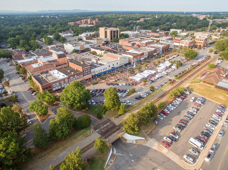 Western Piedmont Symphony Summer Pops 2016 Aerials -1