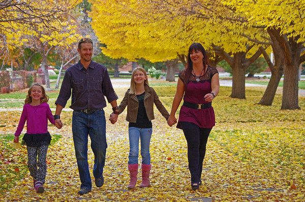 Jason and Diane Hicks Family 2013