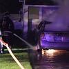 Hicksville Car Fire