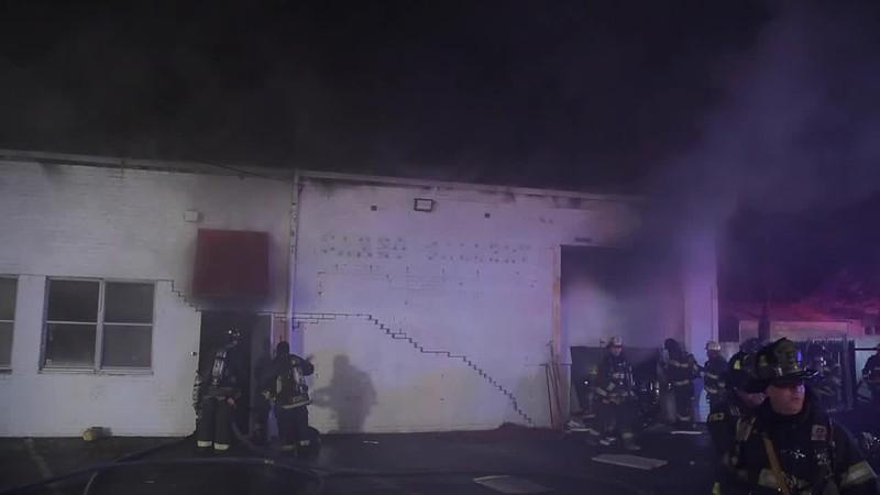 Hicksville Building Fire - Paul Mazza