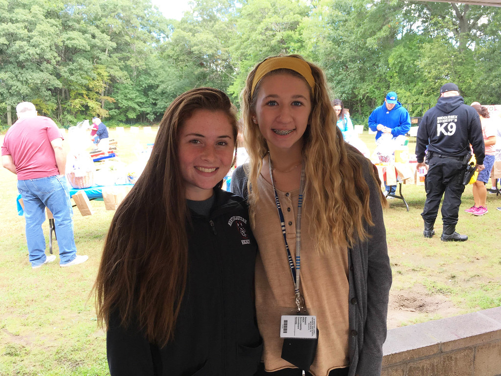 . Marissa Hyder of Pelham and Tealei Chandonnet of Dracut