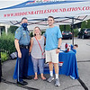 From left, Massachusetts State Trooper Eric Bernstein with Allison & Max Bernstein of Westford