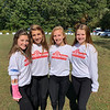 Volunteers, from left, Kristine Nocco, Madson Mical, Kaylie Cashman and Katelyn McAndrew, all of Tyngsboro