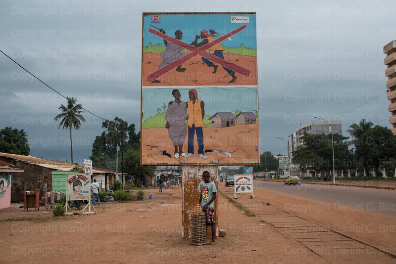 Bangui Billboard
