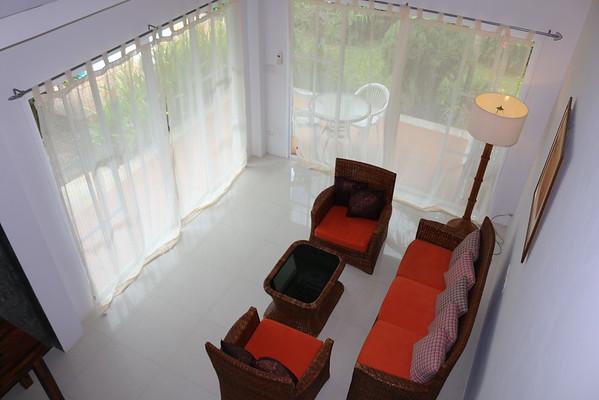 Hidden Cottage Villa Lounge Area