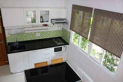 Hidden Cottage Villa Open Plan Kitchen Long Beach, Ko Lanta