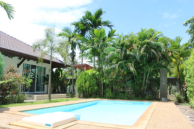 Hidden Cottage Villa Pool Long Beach, Ko Lanta
