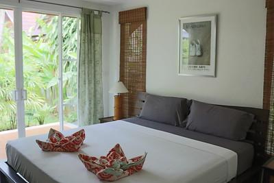 Hidden Cottage Villa Bedroom Long Beach, Ko Lanta