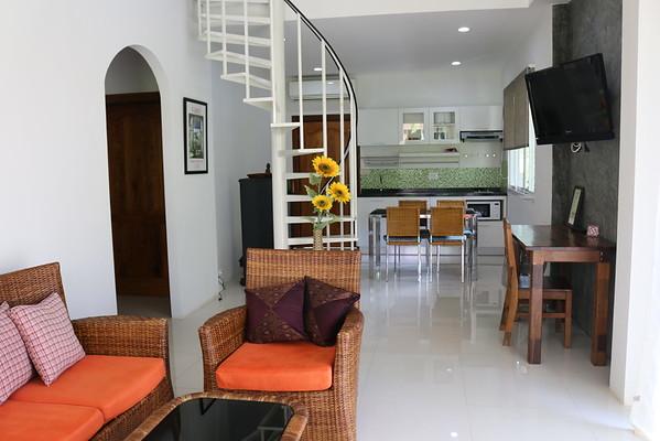 Hidden Cottage Villa Open Plan Lounge