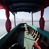 2 hour boat ride on the Mekong from Pakse to Champasak.