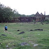 Yep, that's me standing in awe.<br /> What a place....at times we had it to ourselves.....solace among the ruins.