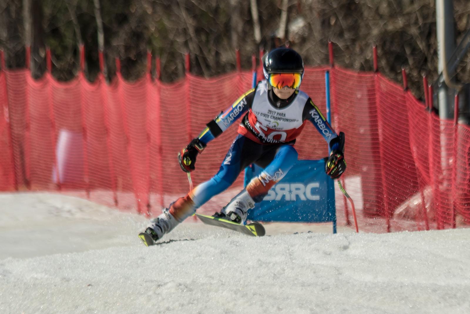 James Dougherty No.50 (BMRA) 2017 PARA U12 State Championships at Roundtop Mountain Resort