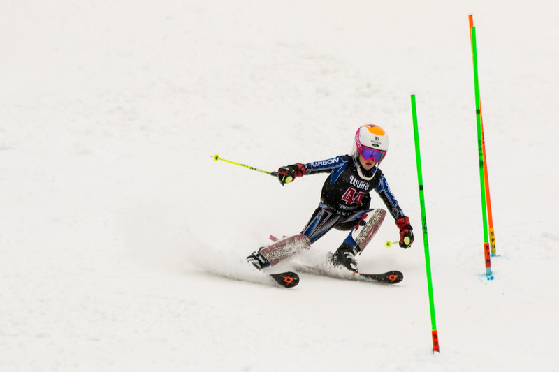 Mia BRUNO No. 44 (WPRC) in the 2017 Willi's Slalom U8-U14 Women - Seven Springs
