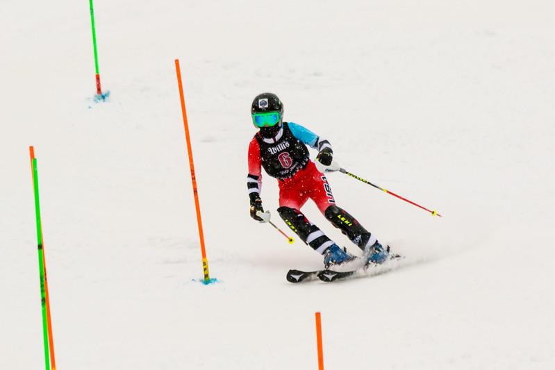 Kate McEnroe No. 6 (WPRC) in the 2017 Willi's Slalom U8-U14 Women - Seven Springs