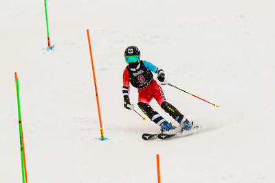 Kate McEnroe No. 6 (WPRC) in the 2017 Willi's Slalom U8-U14 Women - Seven Springs