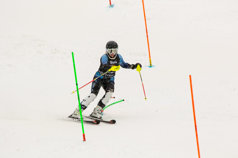 Haley Hessinger No. 26 (HVRC) in the 2017 Willi's Slalom U8-U14 Women - Seven Springs