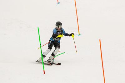 Haley Hessinger No. 26 (HVRC) in the 2017 Willi's Slalom U8-U14 Women - Seven Springs