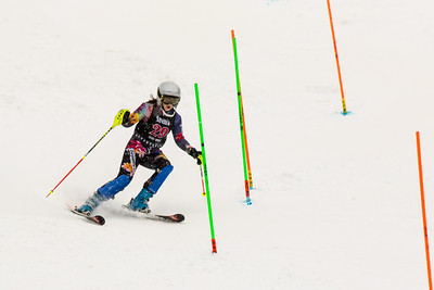 Riley BAUGHMAN No. 29 (HVRC) in the 2017 Willi's Slalom U8-U14 Women - Seven Springs