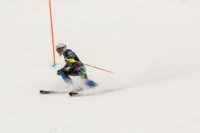 Riley BAUGHMAN No. 29 (HVRC) in the 2017 Willi's Slalom U8-U14 Women - Seven Springs