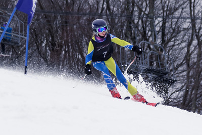 Sadie Snyder No.7 (HVRC) 2018 DCWST Grenier Law Group GS Race at Wisp Resort, McHenry, MD
