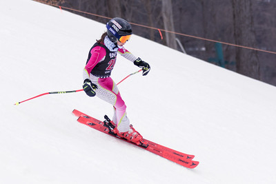 Julia Freudenberg No.20 (WPRC) 2018 J. Rodgers Construction GS on 27th January at Seven Springs, PA