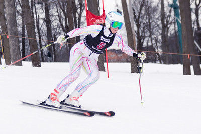 Haley Hessinger No.5 (HVRC) 2018 J. Rodgers Construction GS on 27th January at Seven Springs, PA