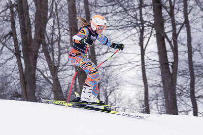 Gabriella Baer No.28 (WPRC) 2018 J. Rodgers Construction GS on 27th January at Seven Springs, PA