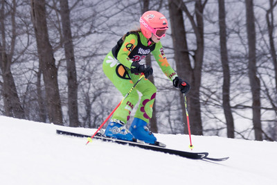 Madelyn Wandel No.23 (WPRC) 2018 J. Rodgers Construction GS on 27th January at Seven Springs, PA