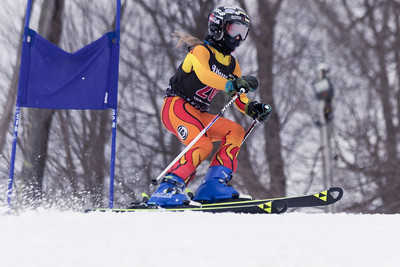 Maeve O'Driscoll No.26 (WPRC) 2018 J. Rodgers Construction GS on 27th January at Seven Springs, PA