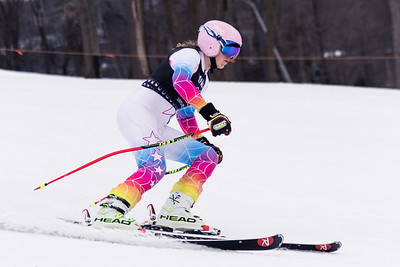 Erin Drahnak No.12 (HVRC) 2018 J. Rodgers Construction GS on 27th January at Seven Springs, PA