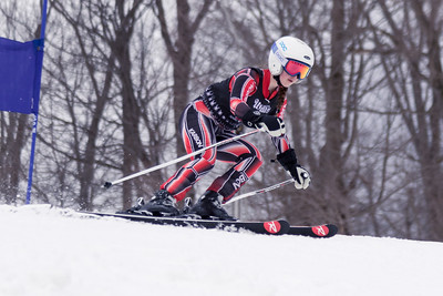Abigail Mroz No.21 (WPRC) 2018 J. Rodgers Construction GS on 27th January at Seven Springs, PA