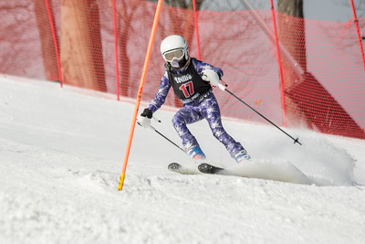 Neave Johnson No.17, From DCWST U14, 2019 Willi's Ski Shop SL on 9th February at Seven Springs, PA