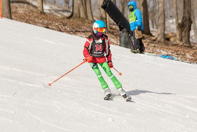 Madeline Allen No.14, From DCWST U14, 2019 Willi's Ski Shop SL on 9th February at Seven Springs, PA