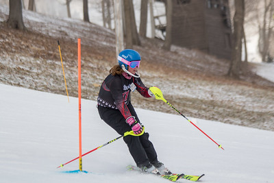 Alexsandra Schmidt No.11, From DCWST U14, 2019 Willi's Ski Shop SL on 9th February at Seven Springs, PA