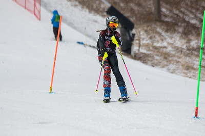 Maeve O'Driscoll No.2, From WPRC U12, 2019 Willi's Ski Shop SL on 9th February at Seven Springs, PA
