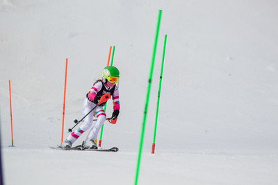 Kaitlin Allen No.3, From DCWST U14, 2019 Willi's Ski Shop SL on 9th February at Seven Springs, PA