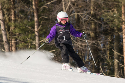 Leila Haddad No. 1 (DCWST) Grenier Law Group GS Race U8-U19 - Wisp Resort