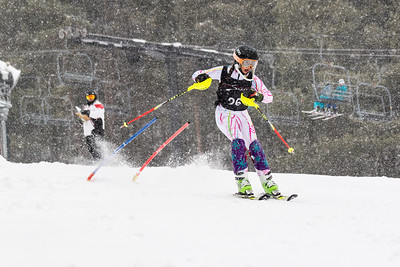 Grayson Honig Bib No. 26 (WPRC) in the DCWST Taylor Made Vacation & Sales SL Race U8-U19 at Seven Springs