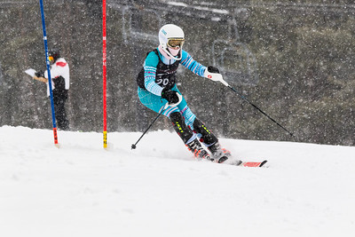 Dania Stewart Bib No. 29 (WPRC) in the DCWST Taylor Made Vacation & Sales SL Race U8-U19 at Seven Springs