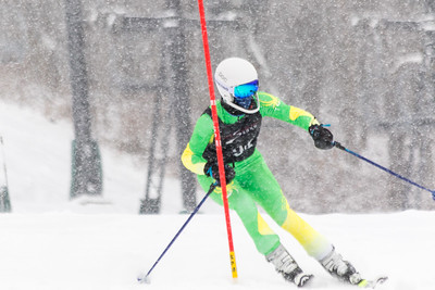 Julia Feldhaus Bib No. 94 (DCWST) in the DCWST Taylor Made Vacation & Sales SL Race U8-U19 at Seven Springs