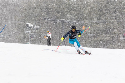 Matthew Lingle Bib No. 116 (DCWST) in the DCWST Taylor Made Vacation & Sales SL Race U8-U19 at Seven Springs