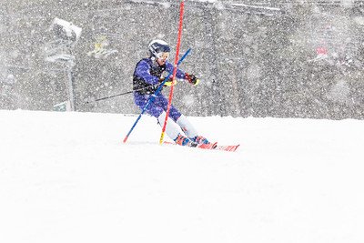 Tyler Mosholder Bib No. 120 (HVRC) in the DCWST Taylor Made Vacation & Sales SL Race U8-U19 at Seven Springs
