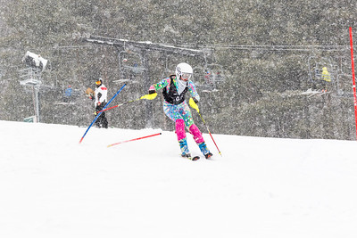 Samantha Honig Bib No. 97 (WPRC) in the DCWST Taylor Made Vacation & Sales SL Race U8-U19 at Seven Springs