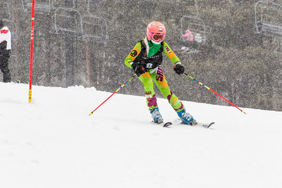 Madelyn Wandel Bib No. 8 (WPRC) in the DCWST Taylor Made Vacation & Sales SL Race U8-U19 at Seven Springs