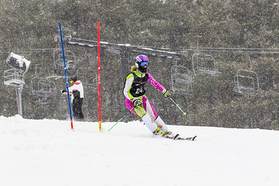 Evangeline Roth Bib No. 24 (BKST) in the DCWST Taylor Made Vacation & Sales SL Race U8-U19 at Seven Springs