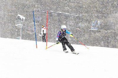 Addie Piper Bib No. 101 (WPRC) in the DCWST Taylor Made Vacation & Sales SL Race U8-U19 at Seven Springs