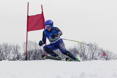 Garrett Berner Bib No. 94 in the Hidden Valley Race Club Open Cup 2 on 28th January 2018