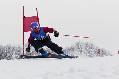 Evan Zelt Bib No. 83 in the Hidden Valley Race Club Open Cup 2 on 28th January 2018