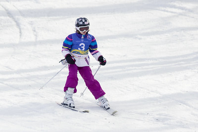 Clara Drahnak Bib No. 3 in the Hidden Valley Race Club Open Cup 2 on 28th January 2018