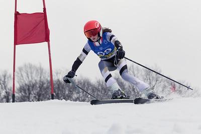 Ellen Gray Bib No. 69 in the Hidden Valley Race Club Open Cup 2 on 28th January 2018